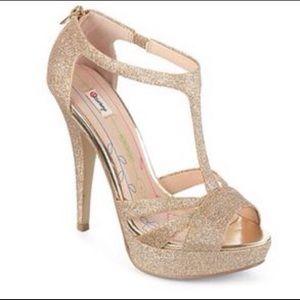 Olsenboye Glitter Sparkle Heels
